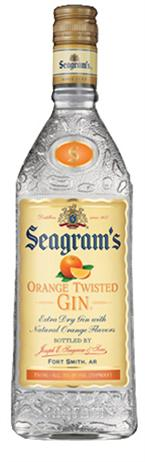 Seagram Gin Orange Twisted